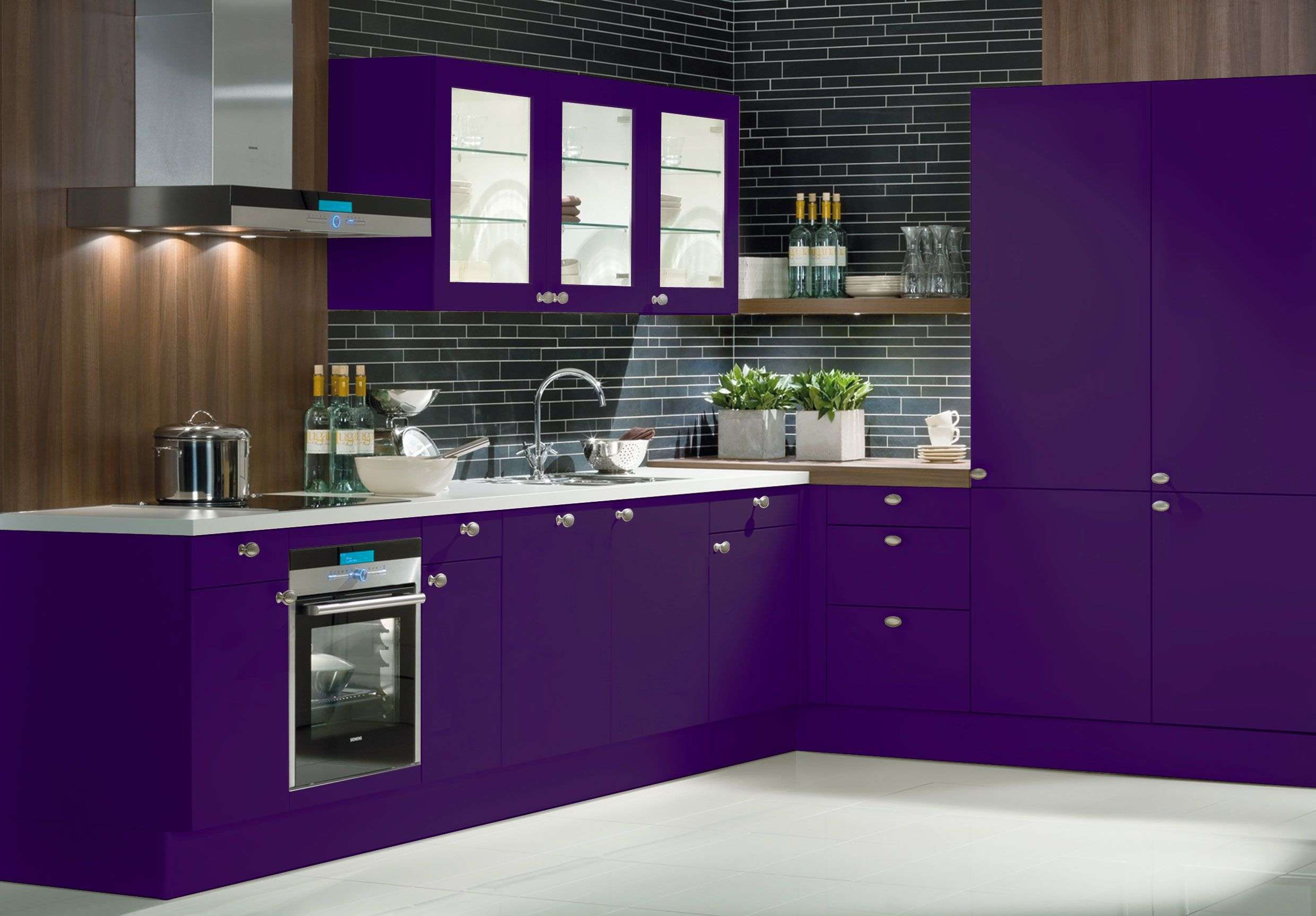 Purple Kitchen Ideas Terrys Fabrics Blog