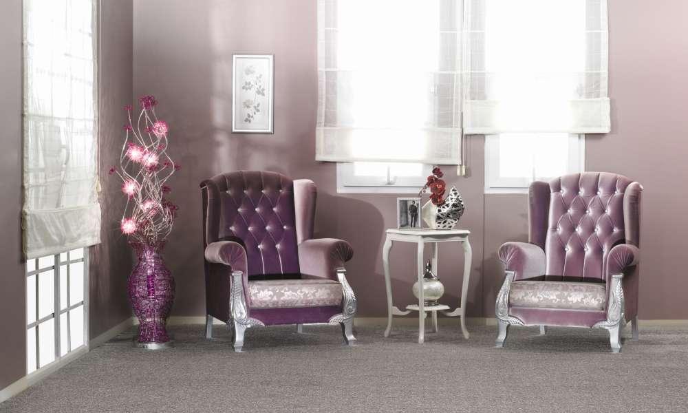 Purple Living Room Interior Ideas Carpetright Info Centre