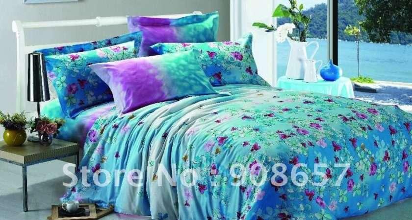 Purple Turquoise Bedding Promotion Shop Promotional