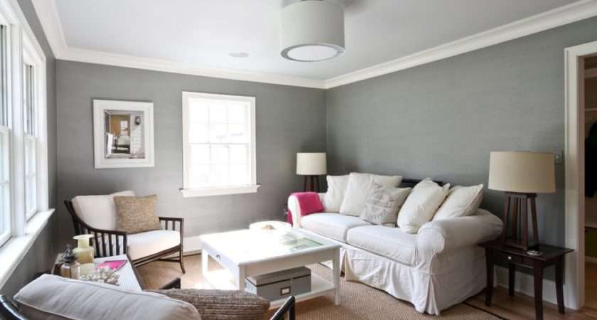 Purple Walls White Trim Lilac Grey Bedroom Ideas