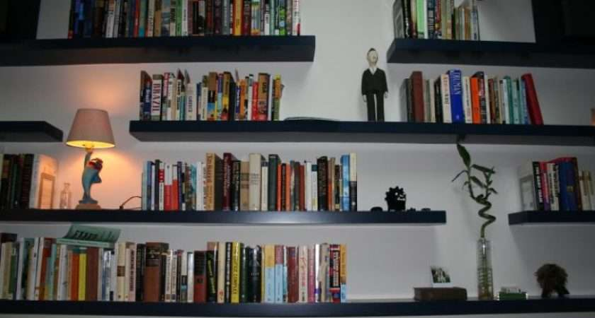 Put Floating Shelves Good Home