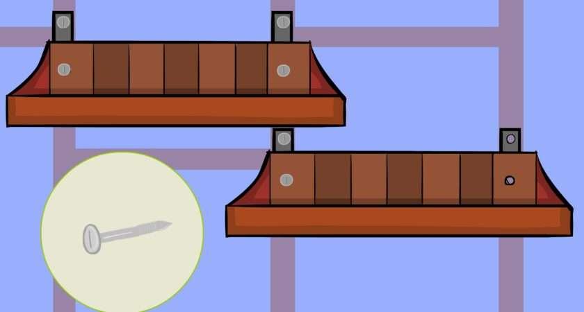Put Shelves Steps Wikihow