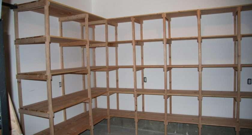 Putting Shelves Garage Simple Overlooking Something