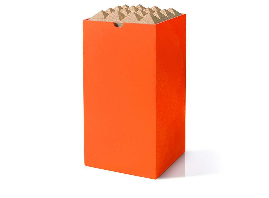 Pyramid Box Stylish Wooden Storage Boxes Korridor Thabto Design
