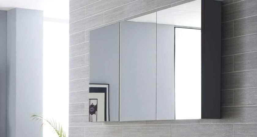 Quartet Designer Large Mirrored Bathroom Cabinet Colours