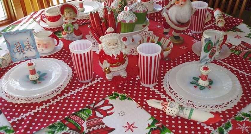 Quiet Corner Ideas Christmas Table Decorations