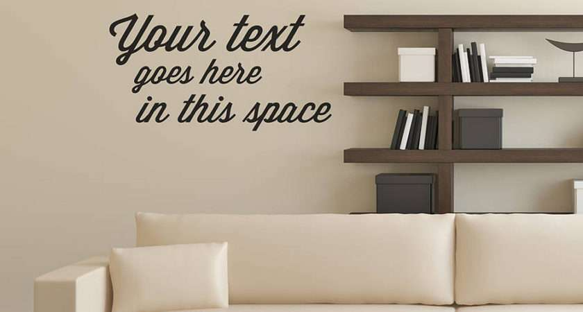 Quote Typographical Wall Sticker Contemporary Stickers