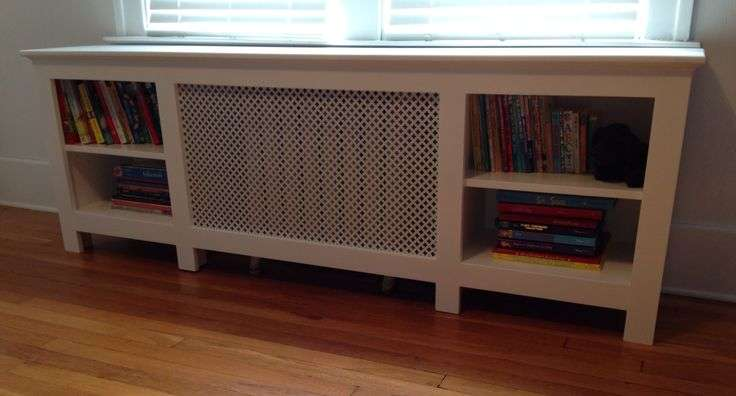 Radiator Cover Bookcase