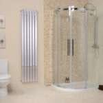 Radiator Radiators Shower Enclosure Vertical Wall