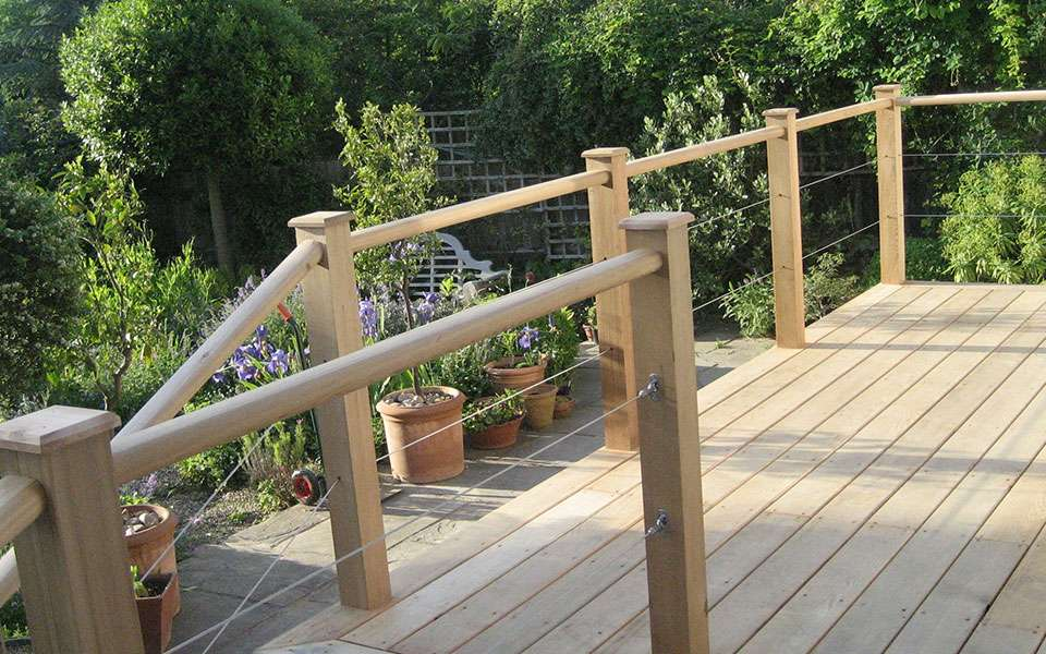 Raised Area Deck Ann Macdonald Garden Design