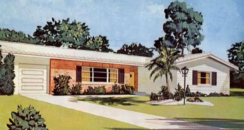 Ranch House Style Pinterest Mid Century
