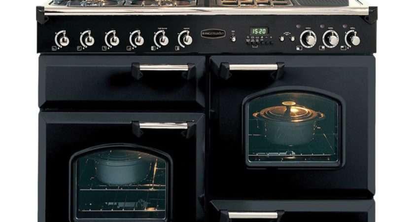 Rangemaster Classic Lpg Range Cooker Black Brass