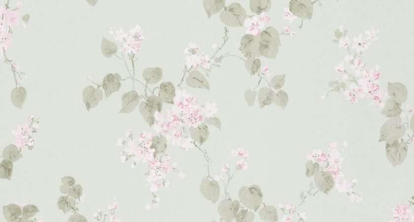 Rasch Emilia Floral Blossom Rose Shabby Chic