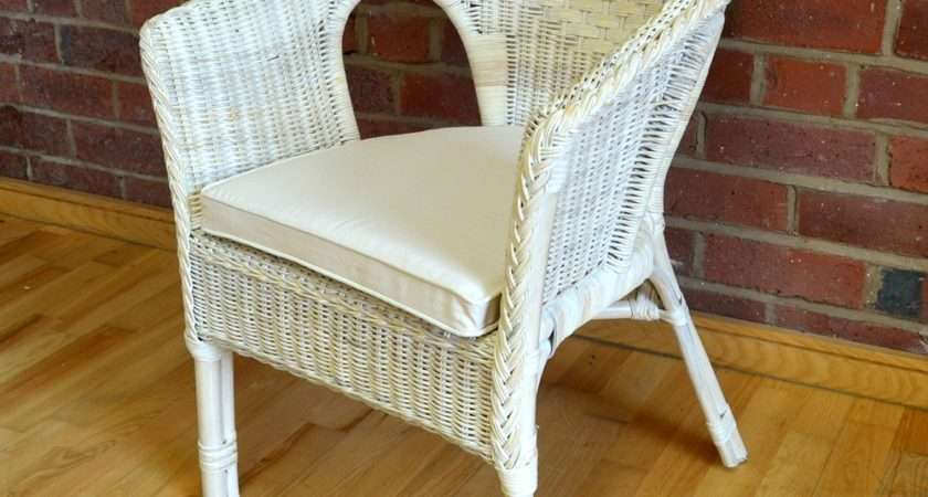 Rattan Bedroom Chair Cushion Alfresia