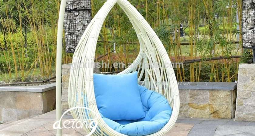 Rattan Garden Hanging Egg Chair Cheap Price Patio Leaf