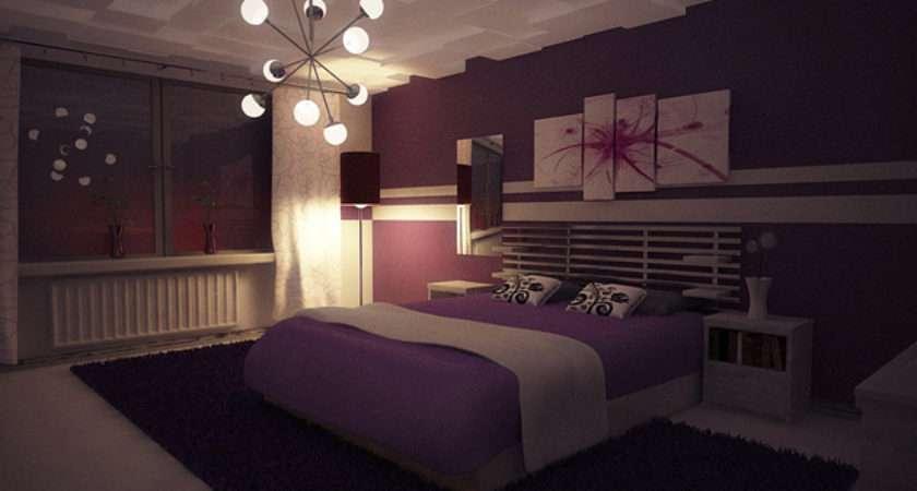 Ravishing Purple Bedroom Designs Home Design Lover