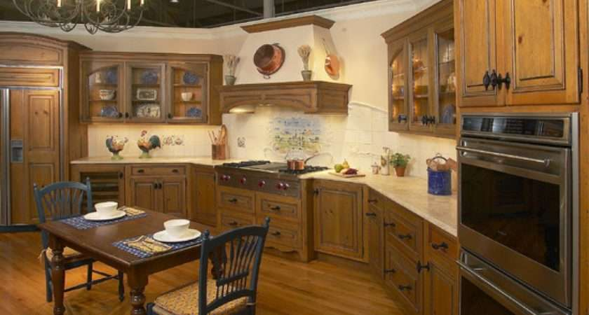 Realize Country Kitchen Design