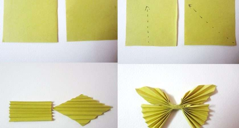 Really Very Simple Way Make Paper Butterfly