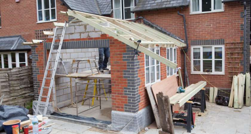 Rear House Extension Overton Builder Ben Hand