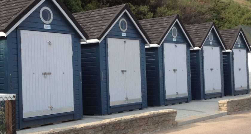 Recently Delivered Our First Batch Beach Huts Alum Chine