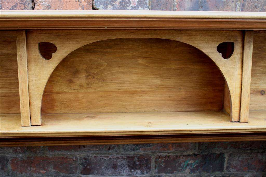 Reclaimed Pine Firesurround Fire Surround Wood Archive