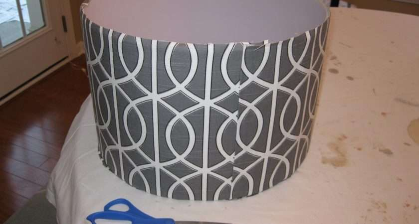 Recover Lampshade Tutorial Emily Clark