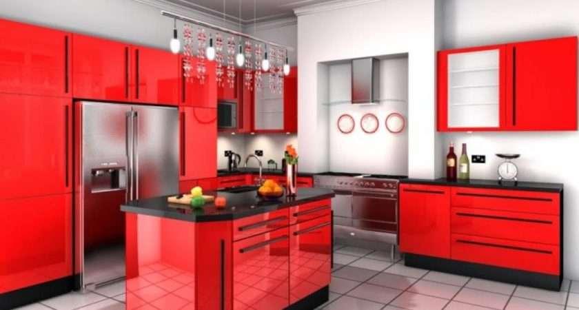 Red Black Kitchen Decor Ideas Wpxsinfo
