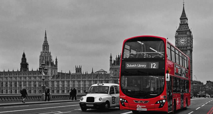 Red London Bus Alice Gosling