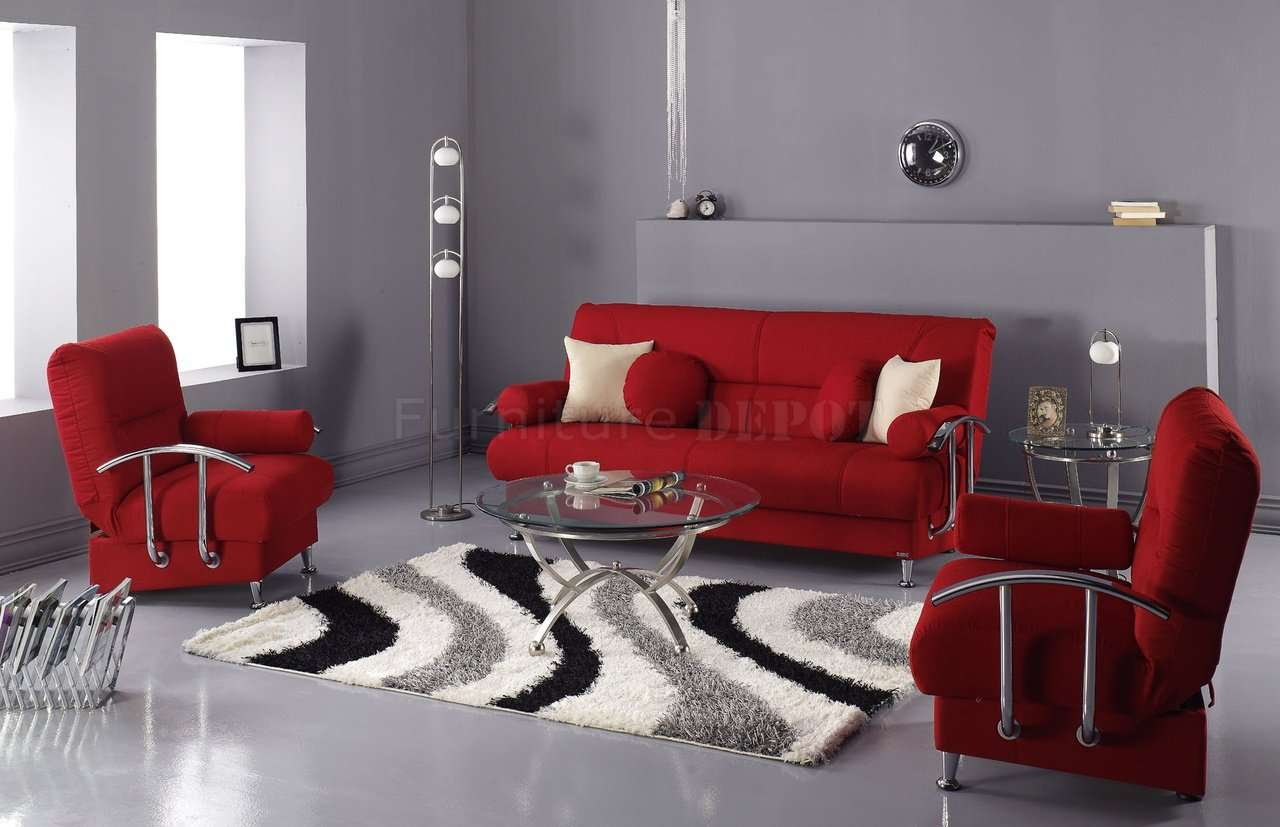 Red Sofa Living Room Gray Ideas Digaleri