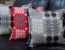 Red Welsh Tapestry Cushion Solva Woollen Mill