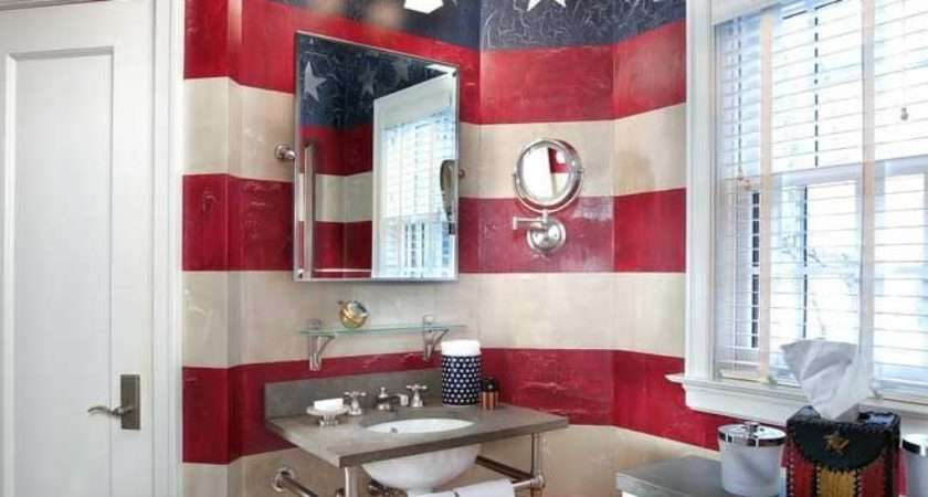 Red White Blue Decorating Ideas