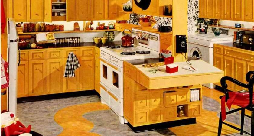 Red Yellow Kitchen Decor Armstrong