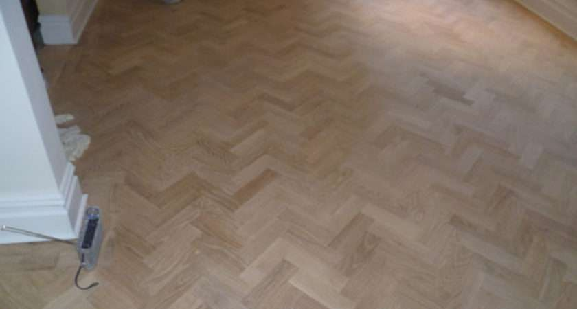 Refurbished Wood Floor Stained Oiled Chiswick