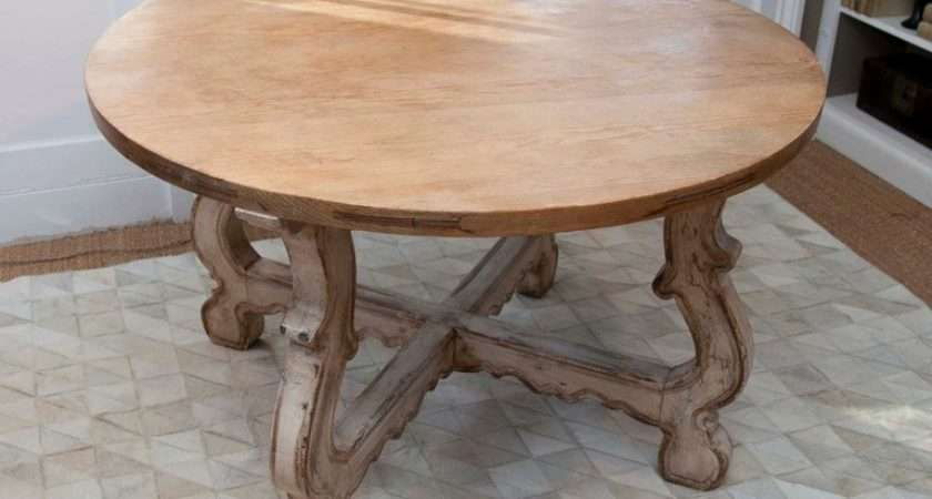 Regency Style Table Scrubbed Pine Top Stdibs