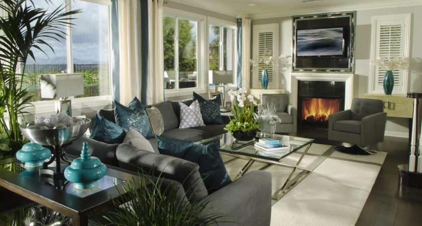 Remarkable Teal Floor Vase Decorating Ideas Living Room