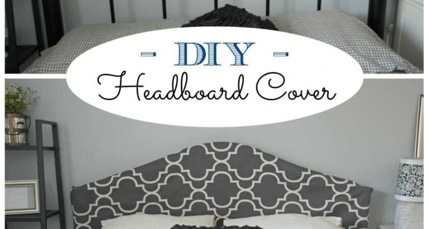 Remodelaholic Easy Sew Headboard Slipcover Tutorial