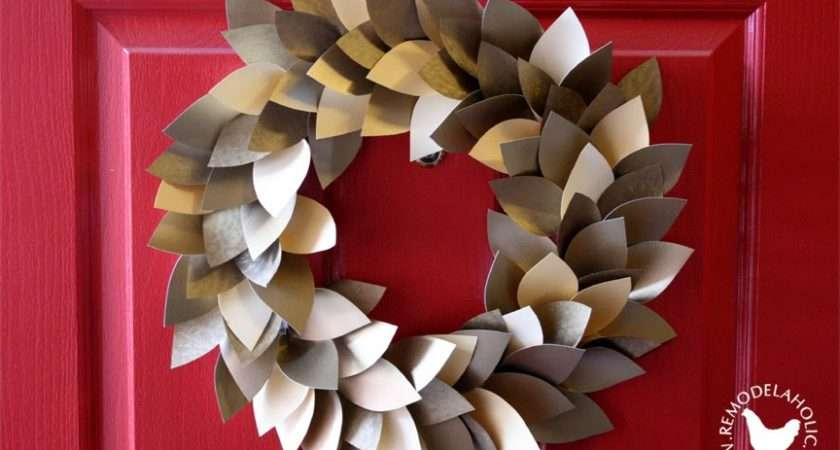 Remodelaholic Paper Christmas Decorations Make