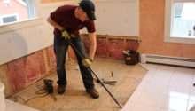 Remove Tile Floor Underlayment Concord
