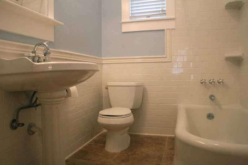 Renovating Remodeling Bathroom