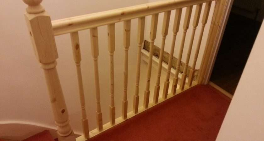 Replace Banister Newel Post Handrail Spindles Stair