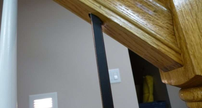 Replacing Wooden Stair Balusters Spindles Wrought Iron