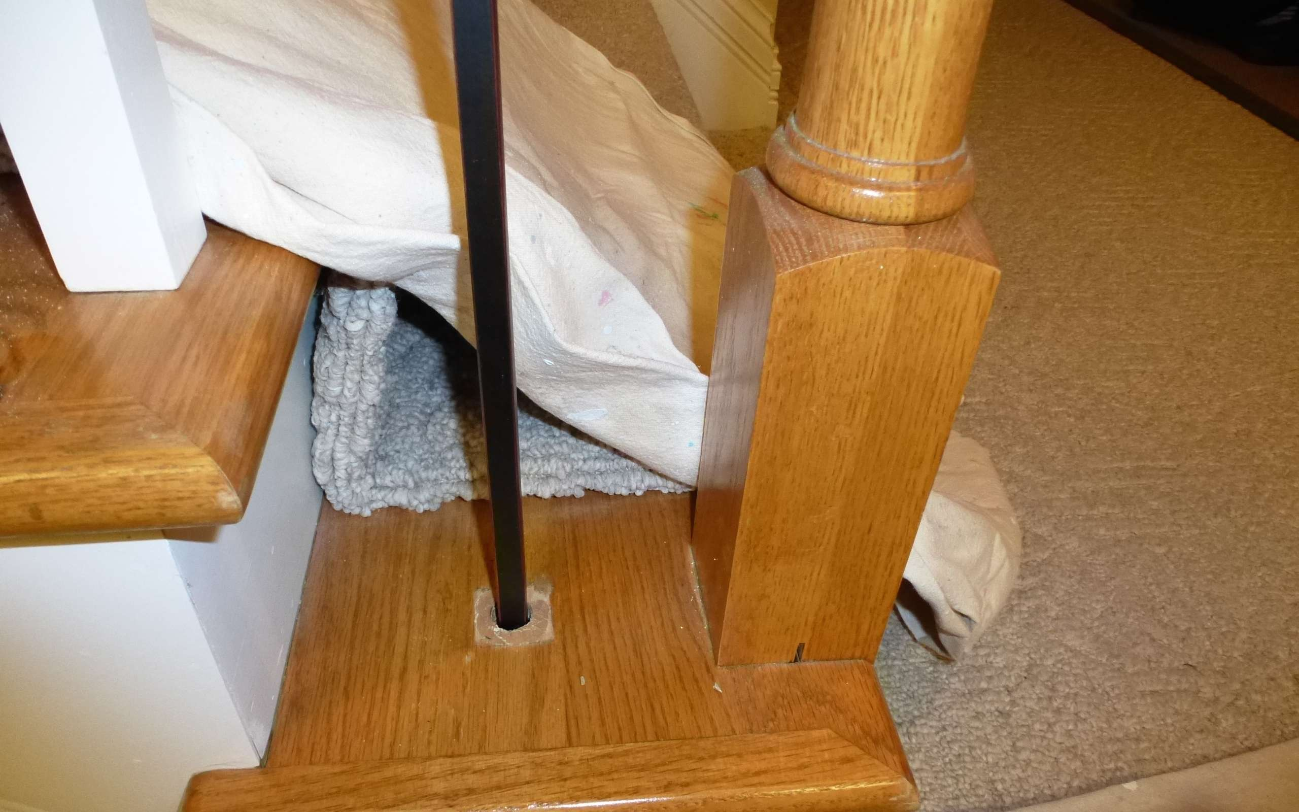 Superior Replacing Wooden Stair Balusters Spindles Wrought Iron