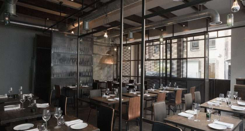 Restaurant Interior Design Industrial Euglena Biz