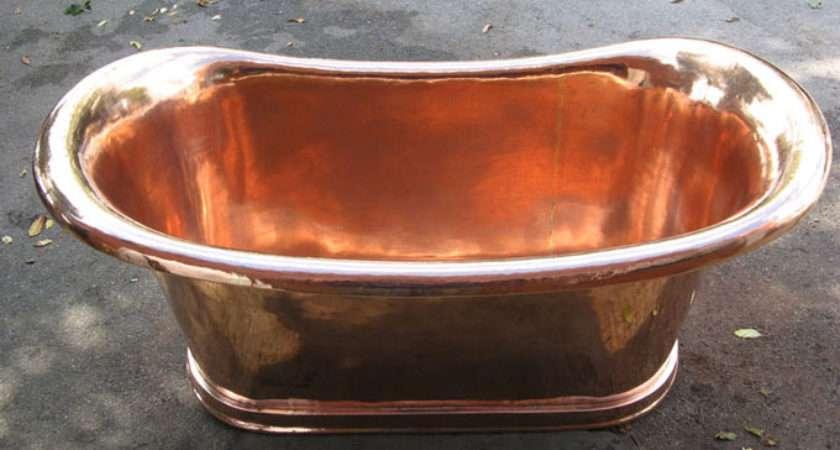 Restored Antique Copper Bath Lanterns Wrought Iron