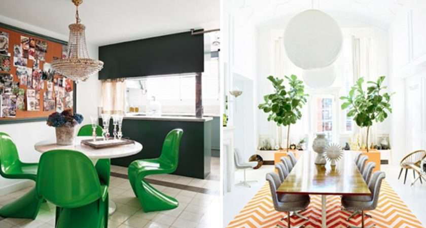 Retro Dining Room Design Ideas Interiorholic