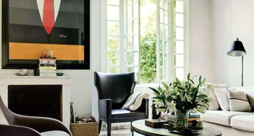 Retro Modern Style Living Room Housetohome