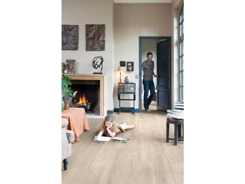 Reviews Quick Step Andante Natural Oak Effect Laminate Flooring