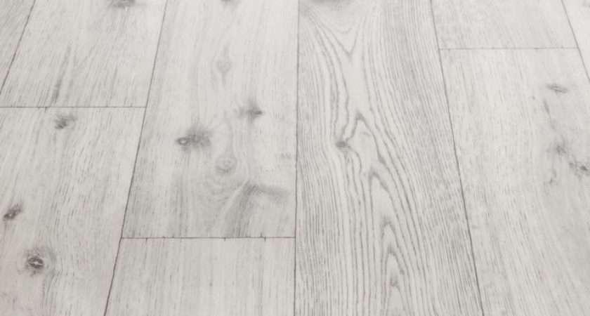Rhino Step Farmhouse White Wood Effect Vinyl Flooring