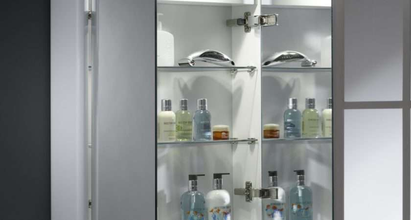 Rhodes Illusion Recessed Illuminated Bathroom Cabinet
