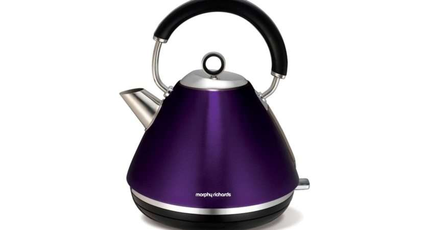 Richards Accents Traditional Kettle Plum Harvey Norman Malaysia